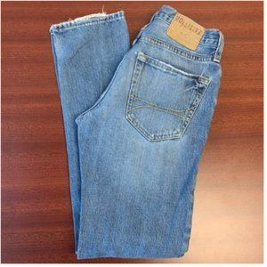 Hollister Button Fly 100% Cotton Jeans